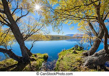 mcgregor, lac, nouvelle zélande