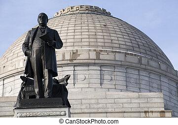 mckinley, monumento, en, cantón, ohio