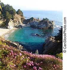 McWay Falls, Big Sur, California - An uncontaminated...