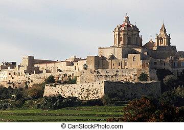 Mdina, Malta\'s Silent city - Mdina, a fortified silent city...