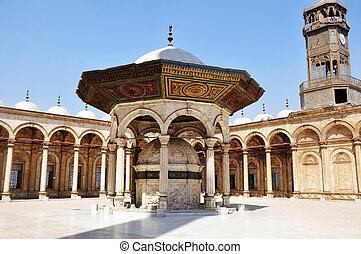 mešita, do, damašek