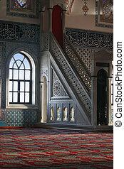 mešita, interrior