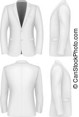 me, giacca, formale, abiti affari
