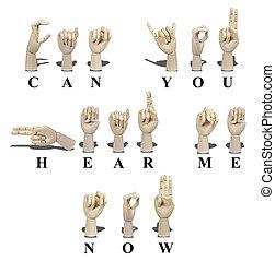 me, langue, signe, entendre, boîte, vous, maintenant