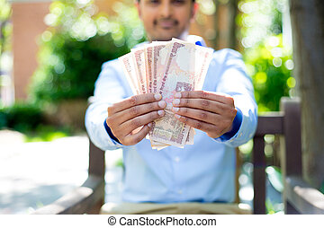 me, soldi, mostra