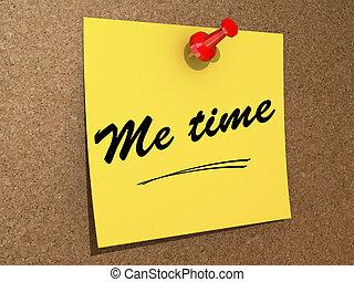 me, tempo