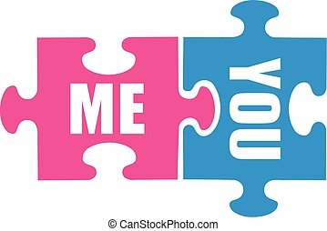 me, -, vous, amour, équipe