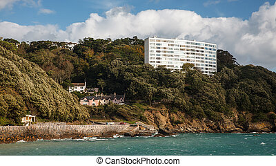 Meadfoot Bay Torquay - Meadfoot Bay and beach at Torquay...