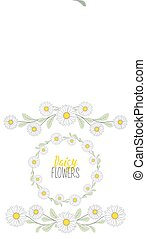 Meadow flower wreath