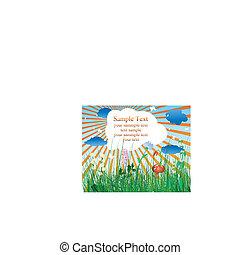 meadow illustration