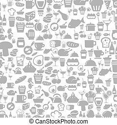 Meal a background5 - Background made of meal. A vector...