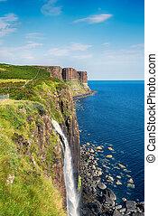 Mealt Falls on the Isle of Skye