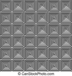 meandry, pattern., seamless