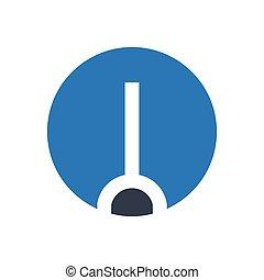 measure  glyph color icon