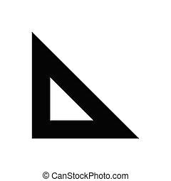 measure  glyph flat icon