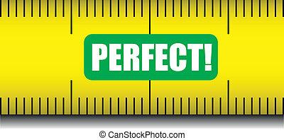 measure tape perfect