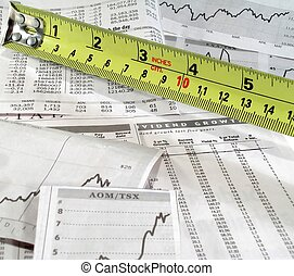 Measure the stock