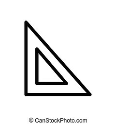 measure  thin line icon