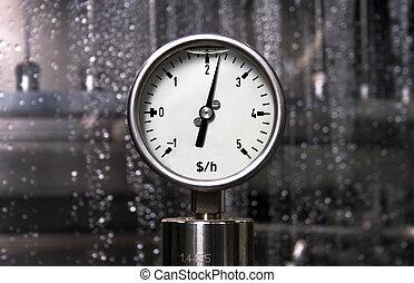 Measurement - Dollar per hour - Pressure measurement -...