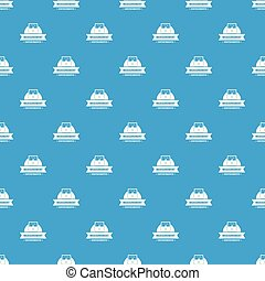 Measurement instrument pattern vector seamless blue repeat for any use