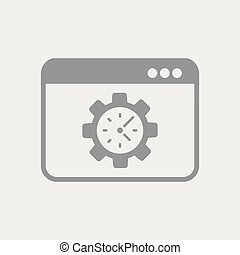 Measurement of computer performance time