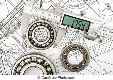 Measurement of diameter of the bearing - Industrial ...
