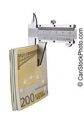 Measuring Euro Banknotes