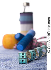 Measuring tape and sport equipment