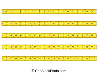 measuring tape for tool roulette vector illustration...