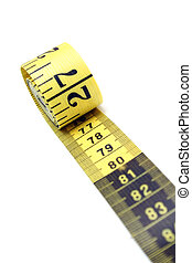 Measuring Tape - Measuring tape unrolling