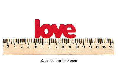"""measuring the word """"Love"""""""