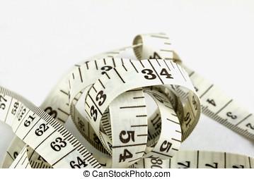 measuting, szalag
