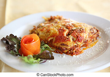 Meat and Cheese Lasagna