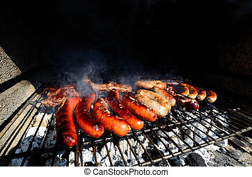 barbecue in the summer