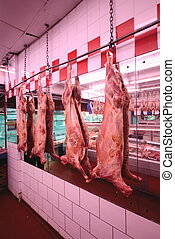 Meat in a shop