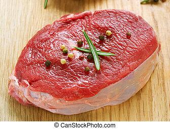 Meat Raw Steak