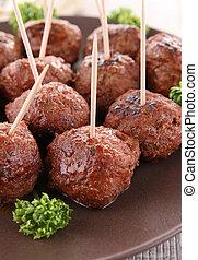 meatballs, voorgerecht