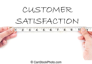 meausuring, satisfaction client