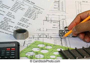 mecánico, ingeniero