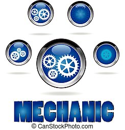mecanica, ícones