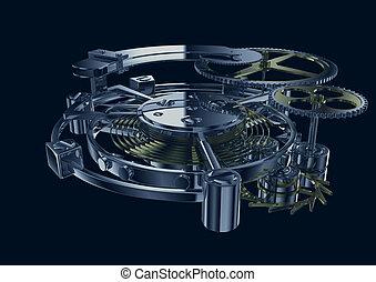 mecanismo, clockwork