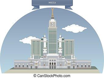 Mecca, Saudi Arabia - Mecca, city in the Hejaz in Saudi...