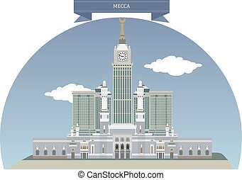 Mecca, Saudi Arabia - Mecca, city in the Hejaz in Saudi...