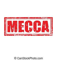 Mecca-stamp