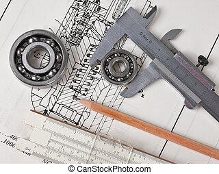 meccanico, piano, portamento