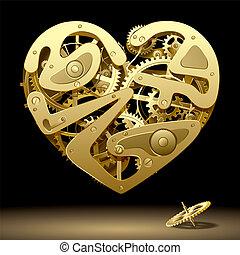 meccanismo, cuore