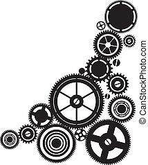 meccanismo, silhouette