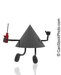 mechanic 3d figure