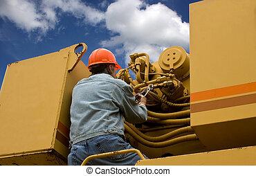 Mechanic repairman