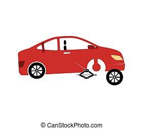 mechanic service isolated icon